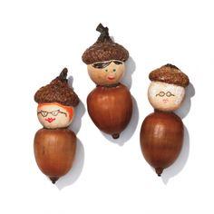 Craft an Acorn Family
