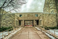 Ives Hall, Cornell University, my school of ILR
