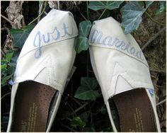 Put your own touch on your #wedding day accessories. Find inspiration with @Toms and @Getoutside_shoes