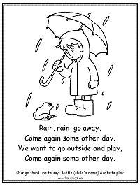 Preschool Poems, Rhyming Activities, Preschool Colors, Preschool Lessons, Preschool Crafts, Kindergarten Assessment, Kindergarten Music, Homeschool Kindergarten, Nursery Rhymes Lyrics