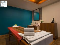 Sit back and relax. Let the expert hands of our masseurs take away your stress at FPBS Jaipur. #FPBS Jaipur #Spa #Amenities