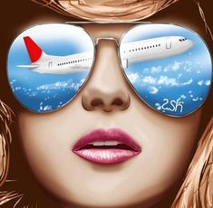 Enjoying The Benefits Of Cheap Airfare Cheap Ray Ban Sunglasses, Sunglasses Sale, Mirrored Sunglasses, Techno, Bff Drawings, Flight Attendant Life, The Great Escape, Book Projects, Through The Looking Glass