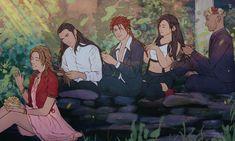 Final Fantasy 3, Final Fantasy Artwork, Fantasy Series, Reno Ff7, Gaming Memes, Anime, Jojo's Bizarre Adventure, Finals, My Arts