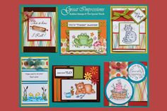 August 2012 Artboard from GreatImpressionsStamps.com