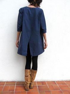 robe_bleu_dos pochee