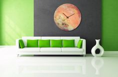 Planet Art, Astronomy Art, World clock, Planetary clock, Planet stamp, Abstract…