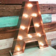 Hey, I found this really awesome Etsy listing at https://www.etsy.com/listing/274072744/large-old-vintage-style-marquee-letters