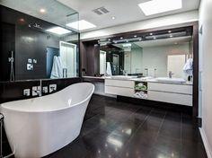 Custom Home - Calgary - Contemporary - Bathroom - Calgary - Rusch Projects