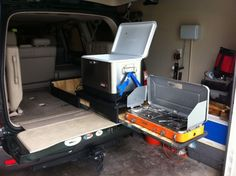 land cruiser 100 camper build out - Google Search