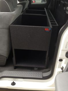 Custom Storage Solution For Extended Cab Ford F 250 Work