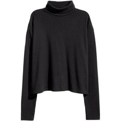 Ribbed Turtleneck Sweater $12.99 (€11) ❤ liked on Polyvore featuring tops, sweaters, short-sleeve turtleneck sweaters, turtleneck sweater, ribbed turtleneck, ribbed long sleeve top and short sweater