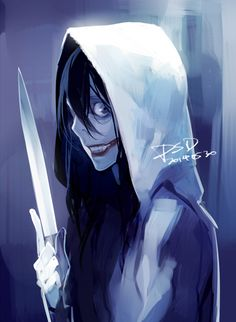 Jeff the Killer Creepypasta Cute, Creepypasta Proxy, Creepypasta Characters, Jeff The Killer, Creepy Art, Scary, Creepy Stuff, Fnaf, My Little Pony