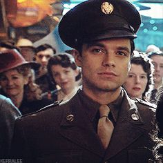 Captain America, Bucky Barnes, The Winter soldier, bucky barnes gift, the winter soldier gif, sebastian stan,