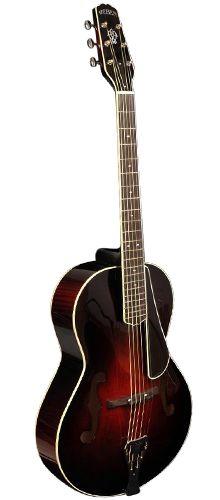 WEBER:    Yellowstone T Arch Top  Guitar -  A beautful piece of art