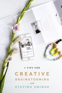 As a creative blogger it's my job to think up new ideas and creative concepts. And while that sound fun and well, let's face it, a bit of a breeze, it can actua