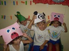 ☆ Aprendendo sempre com: Profª Célia ☆: Dia das crianças - Animais feitos com círculos de papel