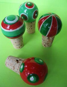 Handmade wine corks