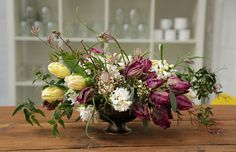 Not the colours but the style and arrangement - photo & Flowers by The Informal Florist