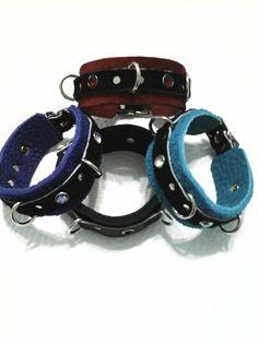 Mini Leather Restraint Bracelet with Rhinestones bdsm by WickedEdgeApparel on Etsy Mature Fun, My Etsy Shop, Belt, Trending Outfits, Mini, Unique Jewelry, Bracelets, Handmade Gifts, Rhinestones