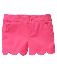 Scalloped Shorts at Gymboree