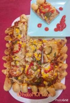 #haloMOM, Mau makan pizza yang garing dan renyah?? Tentunya dengan budget yang minim loh..... yukk MOM kita simak resepnya : http://www.halomom.com/2015/01/dough-pizza-crispy-and-cruncy.html