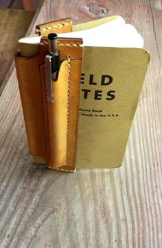 Leather Field Notes Notebook Vest, Refillable Leather Notebook Cover, Custom Leather Notebook, Great Gift ideas