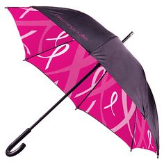 Bloomies Pink Umbrella for Breast Cancer Awareness Month