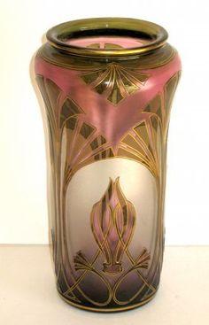 Honesdale cameo glass vase