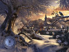 animated winter    Winter Wonderland 3D: Holen Sie sich eine unvergleichbare schöne ...
