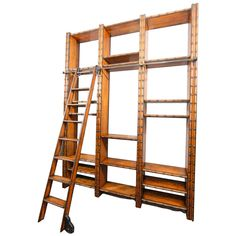 Library Wall | From a unique collection of antique and modern bookcases at https://www.1stdibs.com/furniture/storage-case-pieces/bookcases/