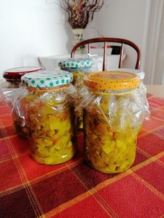 Chutney, Mason Jars, Baking, Glass, Recipes, Turmeric, Drinkware, Bakken, Corning Glass