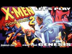Let's Play X-Men 2: Clone Wars for the Sega Genesis