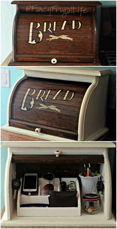Breadbox Makeover Fancy Frugal Life