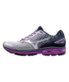 Look at this #zulilyfind! Black & Purple Wave Rider 19 Running Shoe - Women…