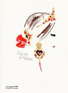 Miyuki Ohashi fashion illustration