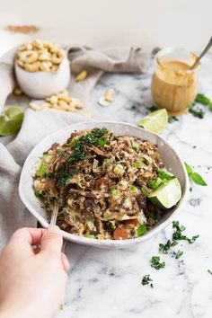 Whole30 Egg Roll in a Bowl. The most delicious one pan meal: egg roll in a bowl loaded up with plenty of cabbage, protein & a creamy sauce. Whole30 dinner recipes. Easy whole30 recipes. Whole30 lunch recipes. Paleo egg roll in a bowl recipe. Low carb egg roll in a bowl. Whole30 bowl recipe. whole30 meal plan. Easy whole30 dinner recipes. Easy whole30 breakfast recipes. Whole30 recipes. Whole30 lunch. Whole30 meal planning. Whole30 meal prep. Healthy paleo meals. Healthy Whole30 recipes. Easy…