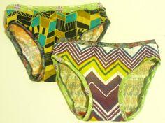 Fabulous Underwear Duo Tribal Power Panties by SparrowAndAsh, $13.00