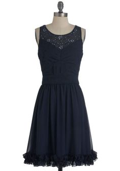 loving this navy blue number via ModCloth!