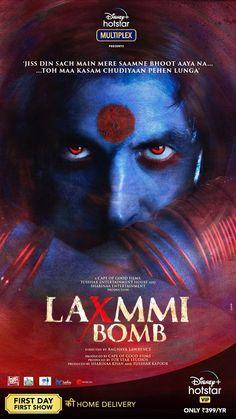 First Look for  #LaxmmiBomb Super Star Akshay Kumar And Kiara Advani Hindi Movie Film, Hindi Movies, Comdey Movies, Films, 2020 Movies, Movies Free, Hindi Bollywood Movies, Quotes, Film