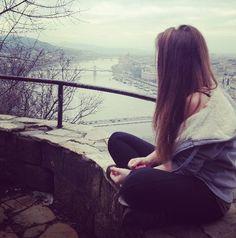 girl, hungary, and alone image