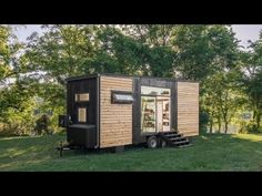 The Big Tiny House 540 Square Feet FOUR axles YouTube