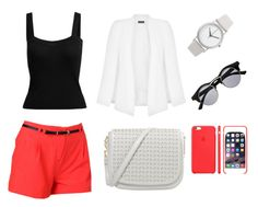 """""""Untitled #41"""" by aneela-57 ❤ liked on Polyvore featuring Forever 21, Miss Selfridge and Normal Timepieces"""