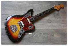 Fender Jaguar original de 1962. En venta en Estudio 54 (en Santiago de Compostela)