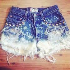 Resultado de imagem para fotos short jeans rasgado