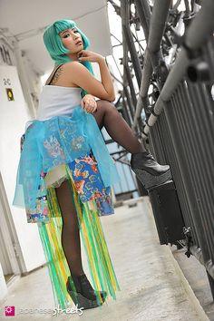 130314-0087 - Japanese street fashion in Harajuku, Tokyo.