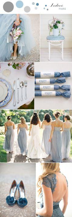 Casamento todo em azul! #criatividade #wedding