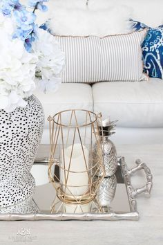 Looking at what is in style for 2018? We're rounding up our favorite trends for the new year! #homedecor #designtips #TuesdayMorning #ad