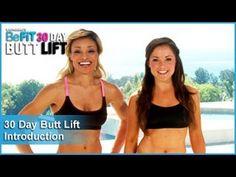 30 Day Butt Lift: Introduction https://www.youtube.com/playlist?list=PL1c41tQdiDhNlibyxyk5pmM-h-LC4DxQ2