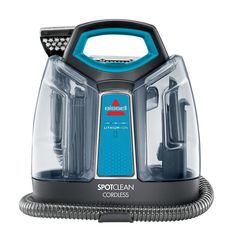 Bissell SpotClean Cordless Portable Spot Cleaner 1570 remove tough stains clean #Bissell