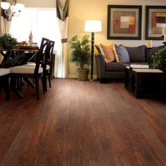 Hampton Bay Hand Scraped La Mesa Maple 8 mm Thick x 5-5/8 in. Wide x 47-3/4 in. Length Laminate Flooring (18.65 sq. ft./case)-HL1045 at The Home Depot